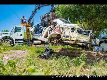 DEH puts dent in derelict car problem - Cayman Compass