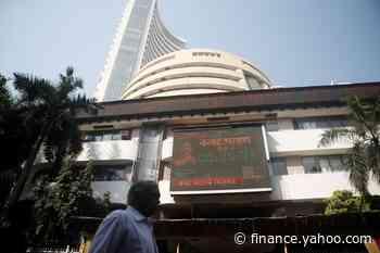 Sensex, Nifty end lower as virus fears dent sentiment - Yahoo Finance