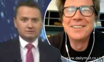 BBC weatherman Matt Taylor is mortified after slating Rick Astley without realising he is listening
