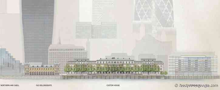 London's grand Custom House set for hotel conversion