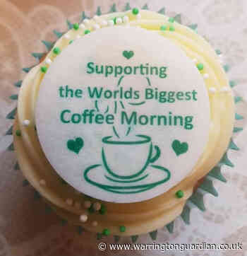 Are you hosting a Macmillan coffee morning this Friday?