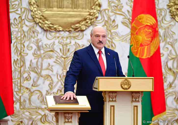 President of Belarus inaugurated despite election protests