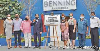 Morelos: Inauguran Academia Benning en Emiliano Zapata - Diario de Morelos