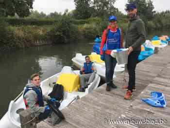 Love Tomorrow haalt 150 kilogram afval uit vijvers van De Schorre en Rupeldijk