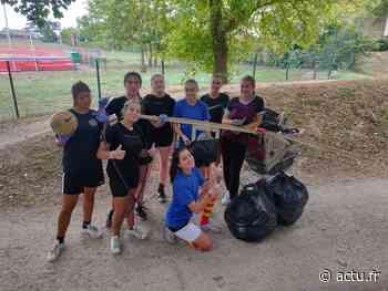 Yvelines. Montesson : les cadettes du club de rugby se mobilisent pour la journée de la Terre - actu.fr
