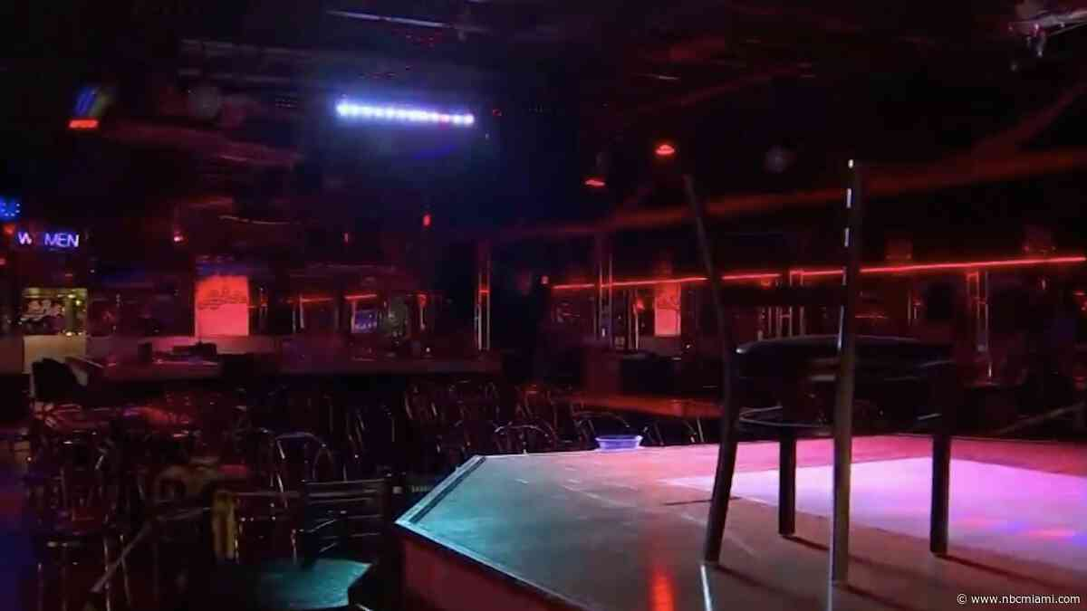 Strip Clubs in Miami-Dade to Reopen With Social Distancing Restrictions