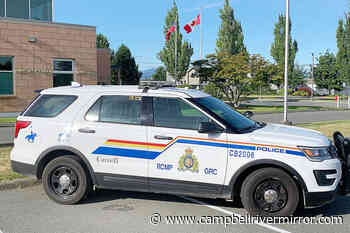 RCMP investigation underway under Tamarac Street – Campbell River Mirror - Campbell River Mirror