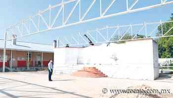 Avanza techumbre en escuela Zaragoza [Coahuila] - 22/09/2020 - Periódico Zócalo