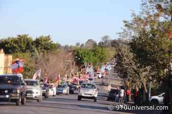 Treinta y Tres: hicieron la caravana más grande en la historia del departamento - 970universal.com