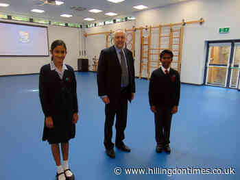 Reddiford School opens new gym and building