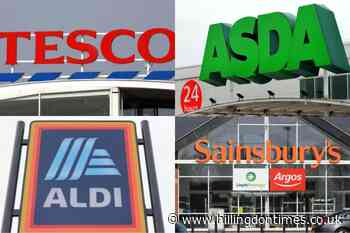 Sainbury's and Aldi respond to fears of panic buying in UK