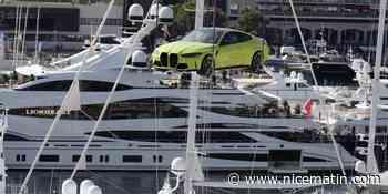 PHOTOS. La nouvelle BMW M4 survole le port Hercule de Monaco pour son lancement international