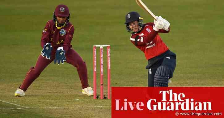 England v West Indies: second women's T20 international – live!
