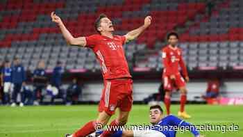 Sorge um Robert Lewandowski! Muss der FCB-Star gegen Sevilla zuschauen? Flick äußert sich zum Polen