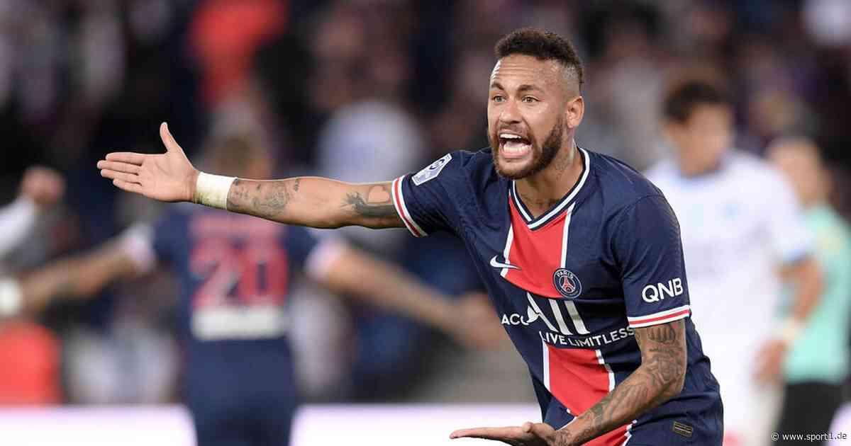 Ligue 1: PSG-Star Neymar nach Eklat zwei Spiele gesperrt - SPORT1