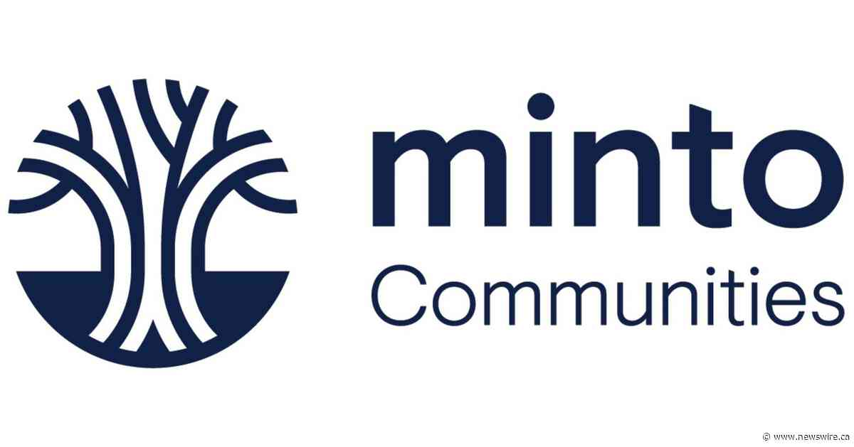 Minto Communities unveils the 20th Minto Dream Home for CHEO's Dream of a Lifetime Lottery - Canada NewsWire