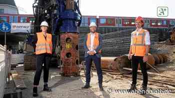 HVV: Bauarbeiten in Ottensen laufen: 2021 hält hier die S-Bahn