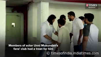 A special birthday gift for Unni Mukundan