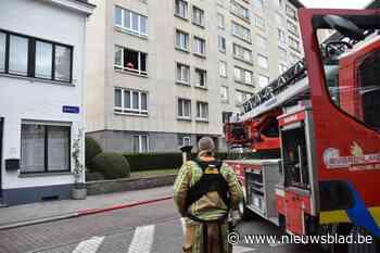 Keuken van appartement zwaar beschadigd door brand