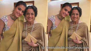Kajol pens down a heartfelt note for mom Tanuja as she turns 77