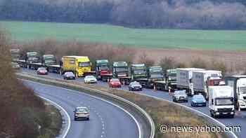 Brexit: Lorry drivers will need a permit to enter Kent after transition period