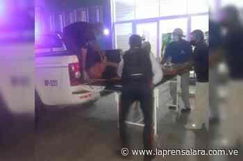 Padre e hijo sufren accidente en moto vía Sanare - La Prensa de Lara