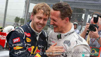 """Wirbel um Sebastian Vettel: Ferrari-Pilot ist Vergleiche mit Schumacher leid - """"Bringen einen nicht weiter"""""""