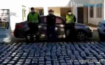 En Roldanillo, un hombre fue capturado cuando movilizaba 357 kilos de marihuana en un carro - elpais.com.co