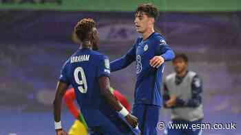 Havertz hat trick sees Chelsea cruise in Carabao Cup