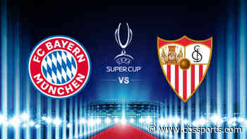 Bayern Munich vs. Sevilla: UEFA Super Cup live stream, TV channel, how to watch online, news, odds