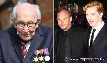 Captain Sir Tom Moore MOVIE announced: Tom Hardy, Benedict Cumberbatch favourites to star - Express