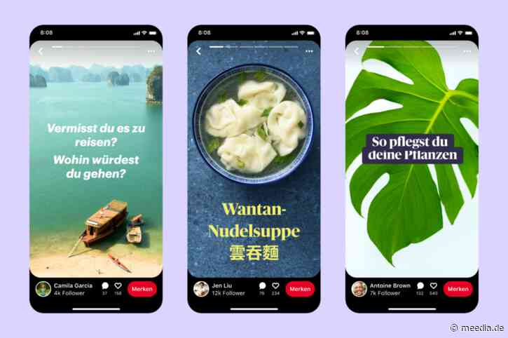 Pinterest führt neues Stories-Feature ein