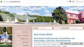 Immobilie verkauft: Gemeinde Kloster Lehnin befürwortet Investition ins ehemalige Schulinternat - Märkische Onlinezeitung
