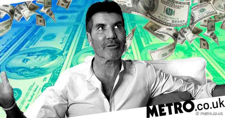 Simon Cowell 'raked in £37m from TV appearances and record label in one year'