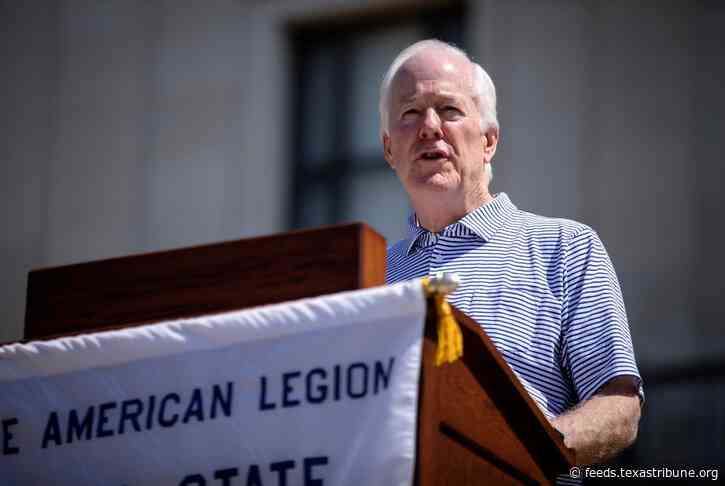 John Cornyn and MJ Hegar's race is competitive in Texas, but they're keeping a low profile compared to 2018's Senate contest