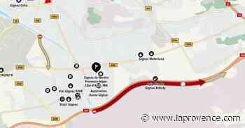 Gignac-la-Nerthe : un accident sur l'A55 perturbe le trafic - La Provence