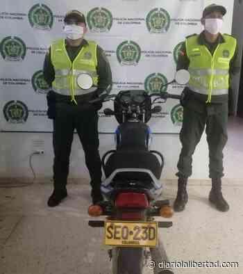 Recuperadas tres motocicletas en los municipios de Cerro de San Antonio, Guamal y El Retén - Diario La Libertad