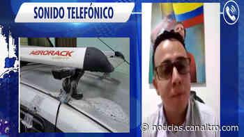 Concejal de Charalá denuncia acto de vandalismo con ácido en su contra - Canal TRO