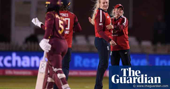 Sarah Glenn turns tide to set up emphatic England win over West Indies