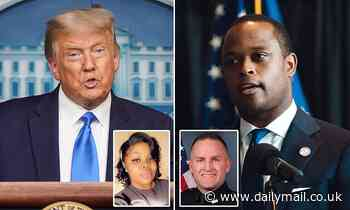 Trump says Kentucky AG Daniel Cameron has handled Breonna Taylor case 'very well'