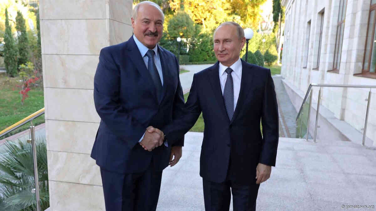 Lukashenka Holds His Own With Putin in Sochi (Part One) - The Jamestown Foundation