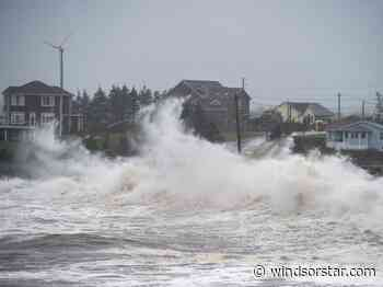 Post-tropical storm Teddy hits Nova Scotia with high winds, rain - Windsor Star