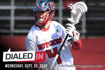 Dialed In: Your Lacrosse Fix for Wednesday, Sept. 23 - US Lacrosse Magazine