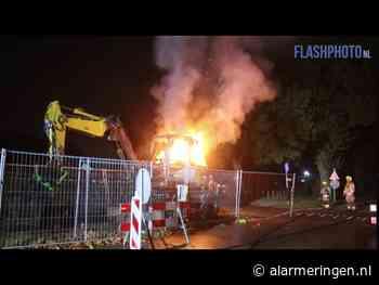 Middelbrand op Jachthavenlaan in Schiedam | 22 september 2020 01:58 - Alarmeringen.nl