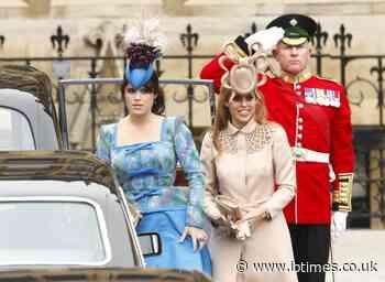 Princess Beatrice sees display of wedding dress, memorabilia at Windsor Castle