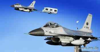F-16-Jets im Einsatz: Fliegende Holländer sorgen für Lärm über Herford - Neue Westfälische