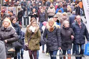 Verkaufsoffener Sonntag abgesagt - Westfalen-Blatt