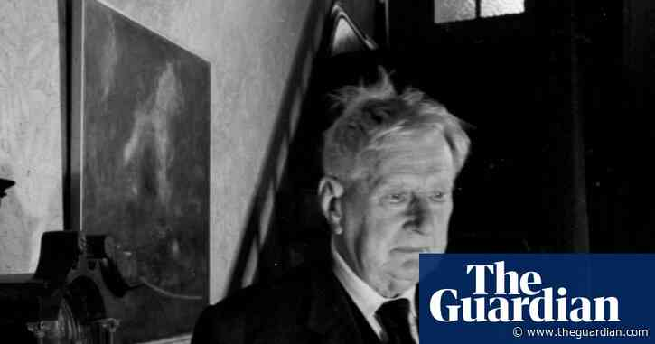 Lowry in the shadows of his Salford home: Derry Moore's best photograph