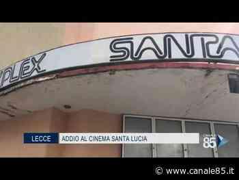 Lecce | Al via la demolizione del cinema Santa Lucia - Canale 85