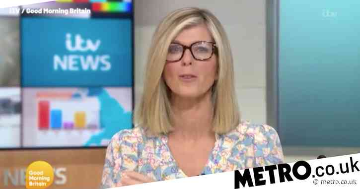 GMB's Kate Garraway forced to wear glasses after injuring eye and Susanna Reid approves of new look